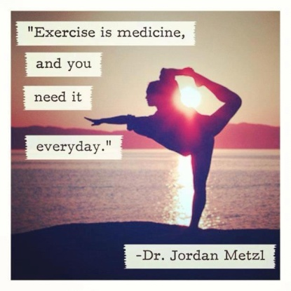 Image result for exercise is medicine and we need it everyday