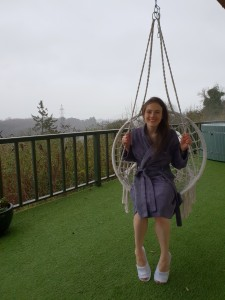 rainf swing chair