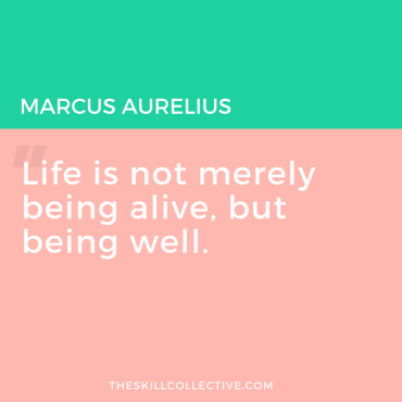 Image result for life is not merely being alive but being well